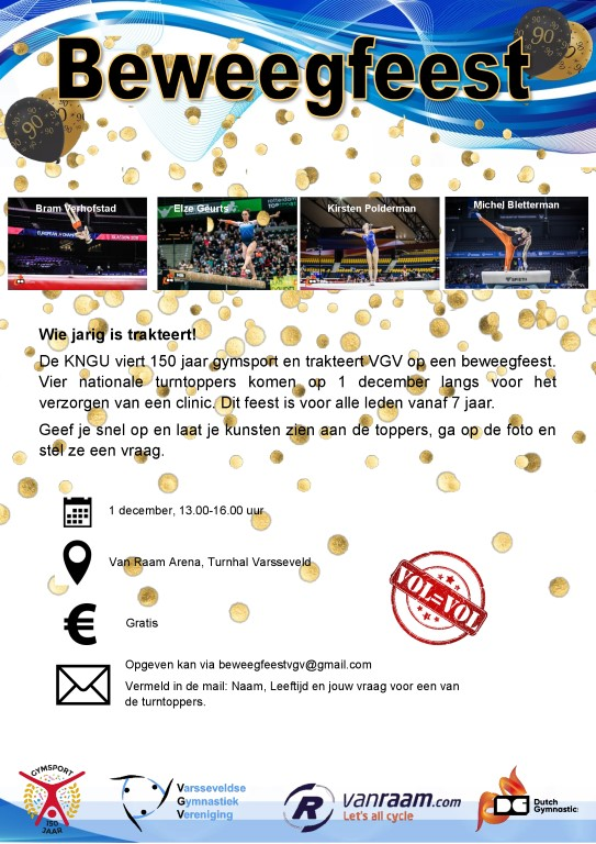 poster beweegfeest vgv Medium